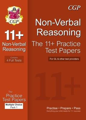 11+ Non-Verbal Reasoning Practice Papers: Multiple Choice - Pack 1 (GL & Other Test Providers): Pack 1 (Paperback)