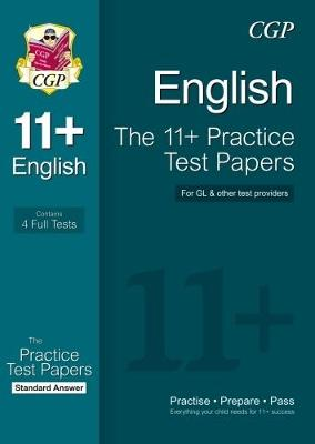 11+ English Practice Papers: Standard Answers (for GL & Other Test Providers) (Paperback)