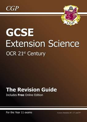 GCSE Further Additional (Extension) Science OCR 21st Century Revision Guide (with Online Ed) (A*-G) (Paperback)
