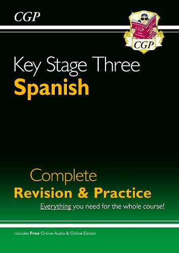 New KS3 Spanish Complete Revision & Practice with Free Online Audio