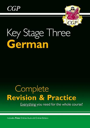 KS3 German Complete Revision & Practice with Audio CD (Paperback)