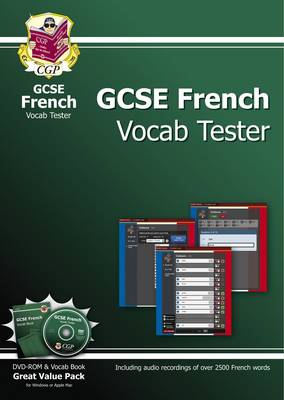 GCSE French Interactive Vocab Tester - DVD-ROM and Vocab Book (A*-G Course)