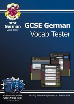 GCSE German Interactive Vocab Tester - DVD-ROM and Vocab Book (A*-G Course)