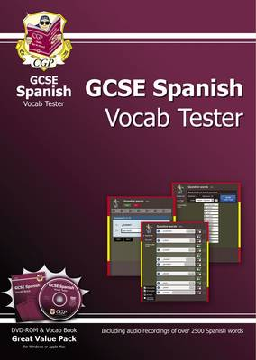 GCSE Spanish Interactive Vocab Tester - DVD-ROM and Vocab Book (A*-G Course)