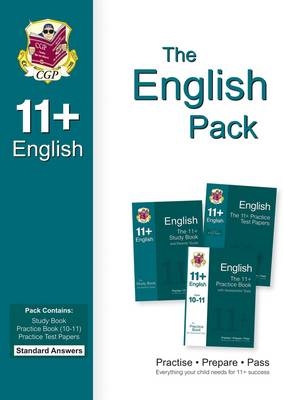 11+ English Bundle Pack - Standard Answers (for GL & Other Test Providers) (Paperback)