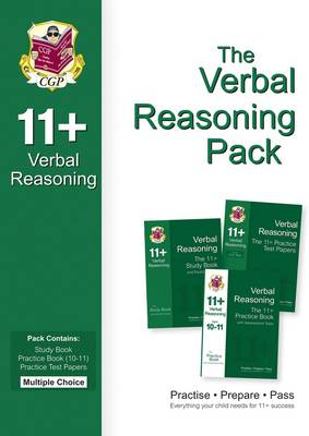 11+ Verbal Reasoning Bundle Pack - Multiple Choice (for GL & Other Test Providers) (Paperback)
