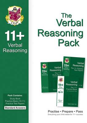 11+ Verbal Reasoning Bundle Pack - Standard Answers (for GL & Other Test Providers) (Paperback)