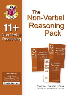 The 11+ Non-Verbal Reasoning Bundle Pack - Standard Answers (for GL & Other Test Providers) (Paperback)