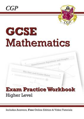 GCSE Maths Exam Practice Workbook with Answers and Online Edition - Higher (A*-G Resits) (Paperback)