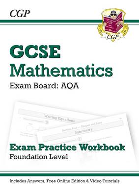 GCSE Maths AQA Exam Practice Workbook with Answers & Online Edn: Foundation (Paperback)