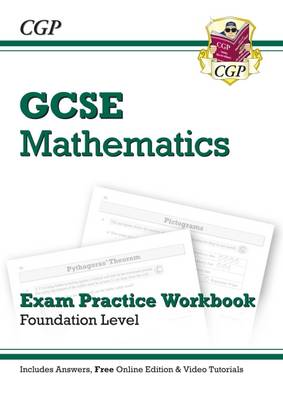 GCSE Maths Exam Practice Workbook with Answers and Online Edition - Foundation (A*-G Resits) (Paperback)