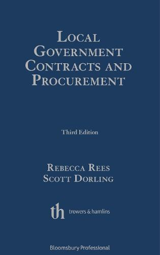Local Government Contracts and Procurement (Hardback)