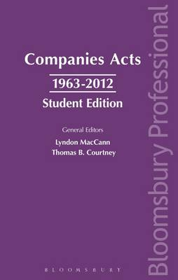 Companies Acts 1963-2012 (Paperback)