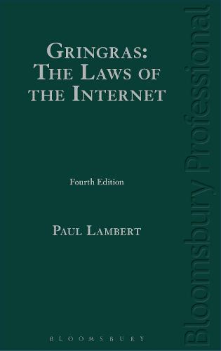 Gringras: The Laws of the Internet (Hardback)