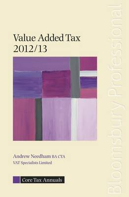 Core Tax Annual: VAT 2012/13 2012/13 - Core Tax Annuals (Paperback)
