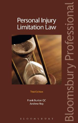 Personal Injury Limitation Law (Paperback)