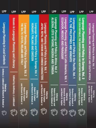 Language Planning and Policy Set (Vols 1-10) - Multilingual Matters Multivolume Sets (Hardback)