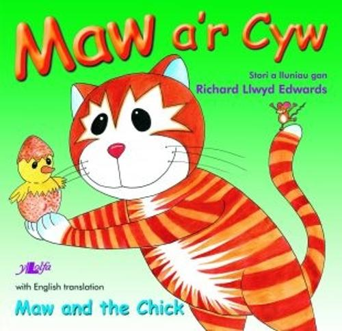 Cyfres Maw: Maw a'r Cyw/Maw and the Chick (Paperback)