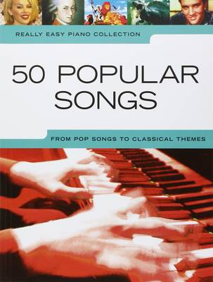 Really Easy Piano: 50 Popular Songs (Paperback)