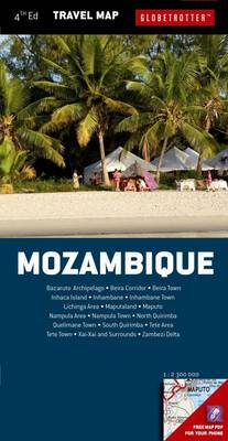 Mozambique - Globetrotter Travel Map (Sheet map, folded)