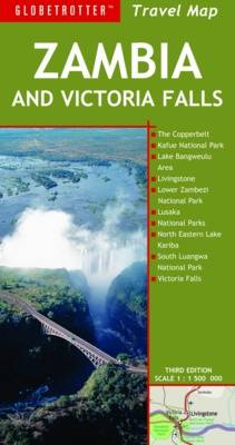 Zambia and Victoria Falls - Globetrotter Travel Map (Sheet map, folded)