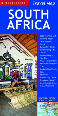 South Africa Travel Map (Paperback)