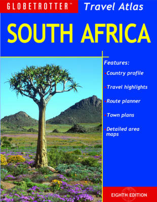 South Africa - Globetrotter Travel Atlas (Paperback)