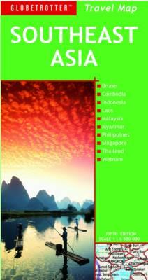Southeast Asia - Globetrotter Travel Map (Sheet map, folded)