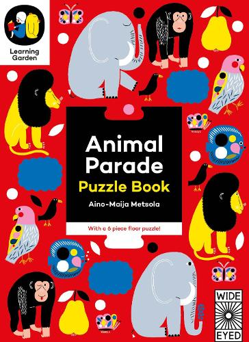 Animal Parade: Puzzle Book - The Learning Garden (Board book)