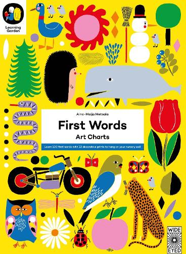 First Words: Art Charts - The Learning Garden (Paperback)