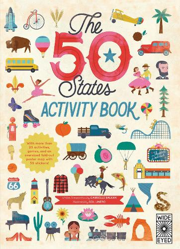 The 50 States: Activity Book: Maps of the 50 States of the USA - The 50 States 2 (Paperback)