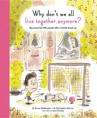 Why Don't We All Live Together Anymore?: Big Issues for Little People After a Family Break-Up - The Life and Soul Library (Hardback)