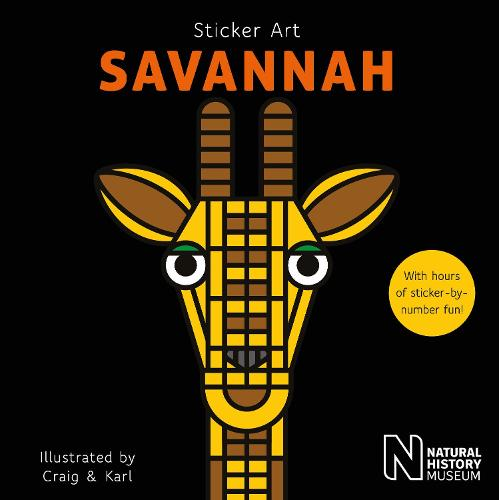 Sticker Art Savannah - Sticker Art (Paperback)