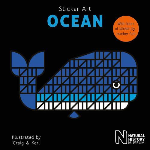 Sticker Art Ocean - Sticker Art (Paperback)