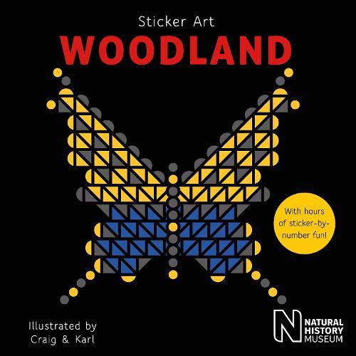 Sticker Art Woodland - Sticker Art (Paperback)
