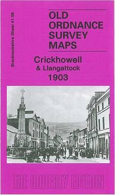 Crickhowell and Llangattock 1903: Brecknockshire Sheet 41.08 - Old Ordnance Survey Maps of Brecknockshire (Sheet map, folded)