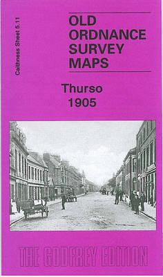 Thurso 1905: Caithness Sheet 5.11 - Old Ordnance Survey Maps of Caithness (Sheet map, folded)