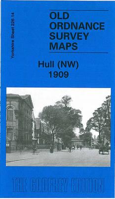 Hull (NW) 1909: Yorkshire Sheet 226.14 - Old Ordnance Survey Maps of Yorkshire (Sheet map, folded)