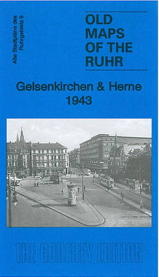 Gelsenkirchen and Herne 1943: Ruhr Sheet 9 - Old Maps of the Ruhr (Sheet map, folded)