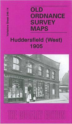 Huddersfield (West) 1905: Yorkshire Sheet 246.14 - Old Ordnance Survey Maps of Yorkshire (Sheet map, folded)