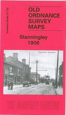 Stanningley 1906: Yorkshire Sheet 217.02 - Old Ordnance Survey Maps of Yorkshire (Sheet map, folded)