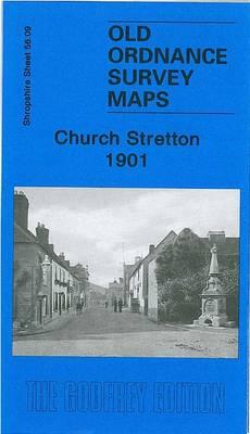 Church Stretton 1901: Shropshire Sheet 56.09 - Old Ordnance Survey Maps of Shropshire (Sheet map, folded)