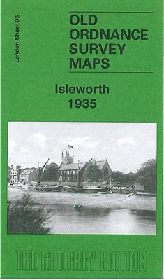 Isleworth 1935: London Sheet 96.4 - Old Ordnance Survey Maps of London (Sheet map, folded)