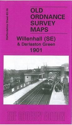 Willenhall (SE) and Darlaston Green 1901: Staffordshire Sheet 63.09b - Old Ordnance Survey Maps of Staffordshire (Sheet map, folded)