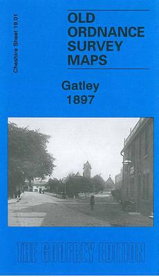 Gatley 1897: Cheshire Sheet 19.01 - Old Ordnance Survey Maps of Cheshire (Sheet map, folded)