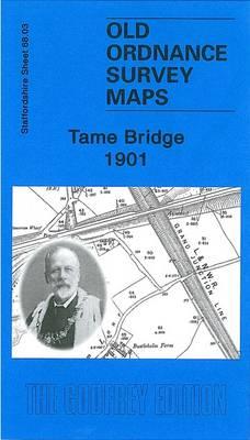 Tame Bridge 1901: Staffordshire Sheet 68.03 - Old Ordnance Survey Maps of Staffordshire (Sheet map, folded)