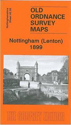 Nottingham (Lenton) 1899: Nottingham Sheet 42.05 - Old Ordnance Survey Maps of Nottinghamshire (Sheet map, folded)