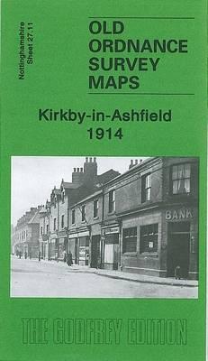 Kirkby-in-Ashfield 1914: Nottingham Sheet 27.11 - Old Ordnance Survey Maps of Nottinghamshire (Sheet map, folded)