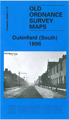 Dukinfield (South) 1896: Cheshire Sheet 3.13 - Old Ordnance Survey Maps of Cheshire (Sheet map, folded)