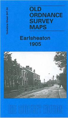 Earlsheaton 1905: Yorkshire Sheet 247.04 - Old Ordnance Survey Maps of Yorkshire (Sheet map, folded)
